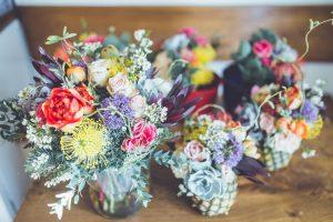 arreglos florales vintage mixtos