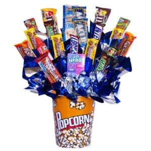 Arreglo de Dulces Candy Pop Corn