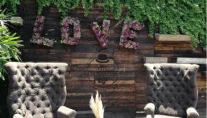 Letro de Love para boda