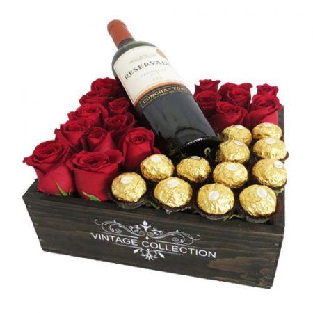 Rosas, Chocolates y Tinto
